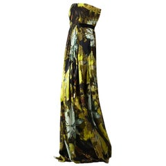 New Badgley Mischka Couture Evening Dress Gown Sz 8