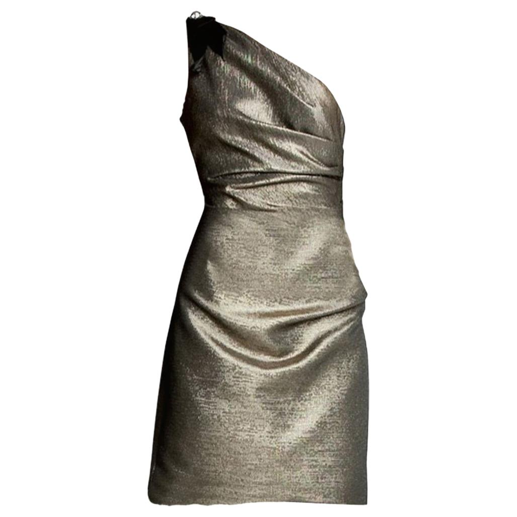 New Badgley Mischka New Couture Cocktail Dress Sz 6