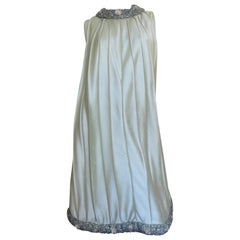 New Beaded Trim Dress and Coat Set 1960s