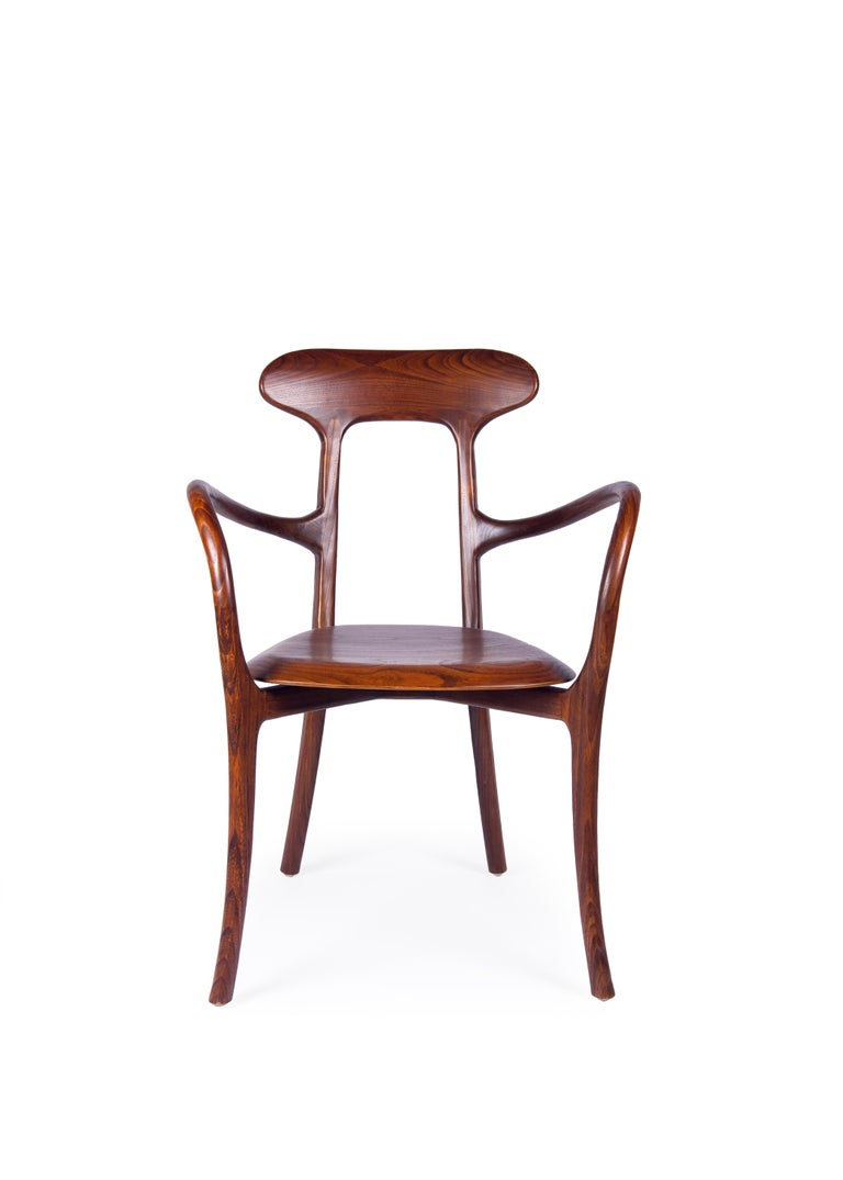 New bentwood armchair with wood seat and back Ideal for hospitality  Measure: Arm height, 26in.