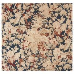 New Bessarabian Design Floral Hand Knotted Wool Rug