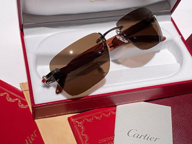 New Cartier Rimless