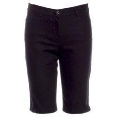 NEW Chanel Black Classic Shorts Bermuda Pants