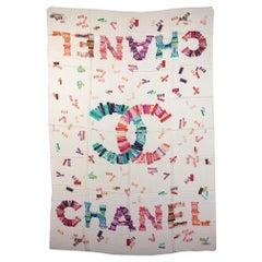 New Chanel Cashmere Silk Multicolor Shawl