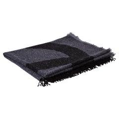 New Chanel CC Logo Cashmere Blend Throw Blanket