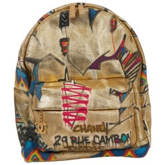 New Chanel Limited Edition Graffiti Backpack