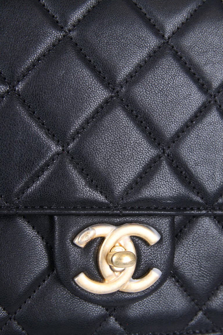 New! Chanel Quilted Flap Bag 2019 - black In New Condition For Sale In Baarn, NL