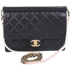 New! Chanel Quilted Flap Bag 2019 - black