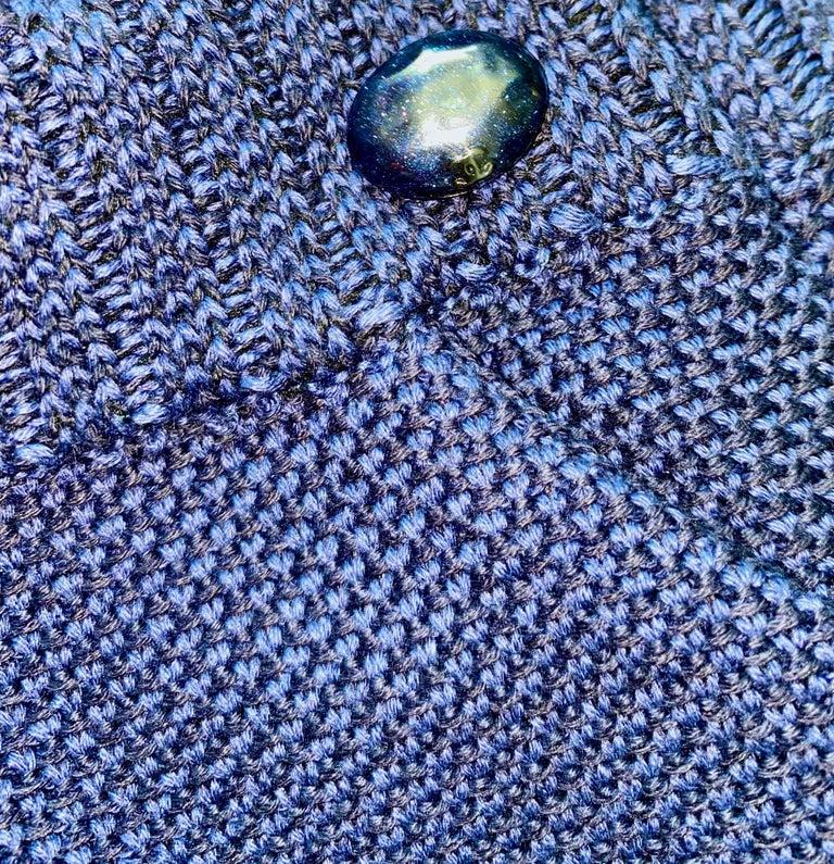 NEW Chanel Signature Crochet Knit Bermuda Shorts Pants For Sale 2