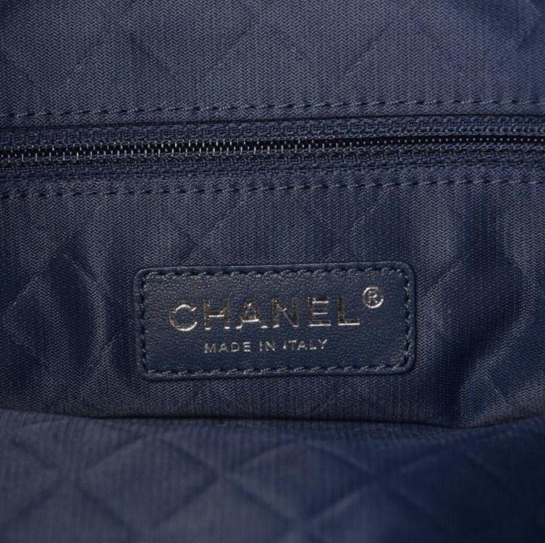 New Chanel Tweed Space Flight Handle Logo Rare Limited Edition Backpack In Excellent Condition For Sale In Miami, FL