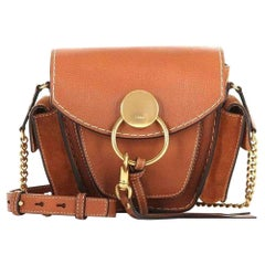 New Chloe Caramel Leather Jodie Cross Body Shoulder bag