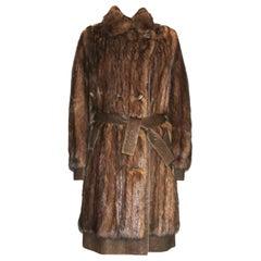 NEW Christian Dior Russian Bargouzine Sable Fur Coat