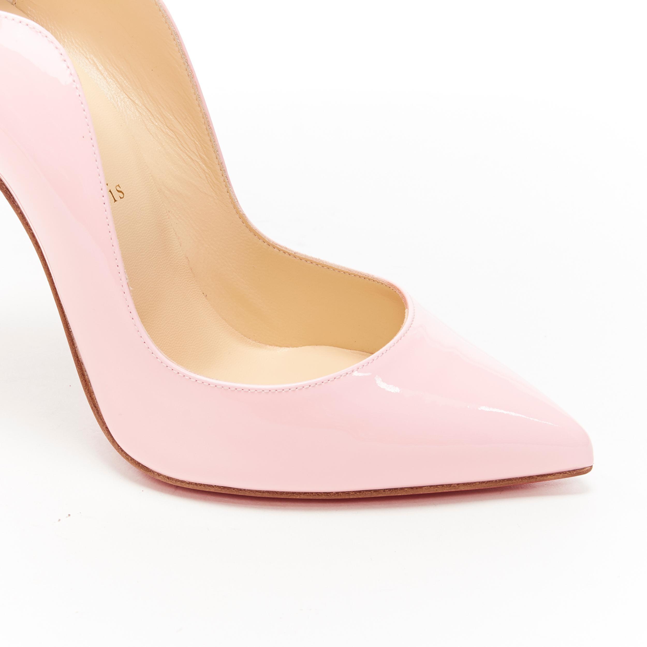 christian louboutin hot chick pink
