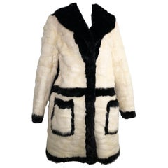 NEW Claudio Paliotti Genuine Mink Fur Coat
