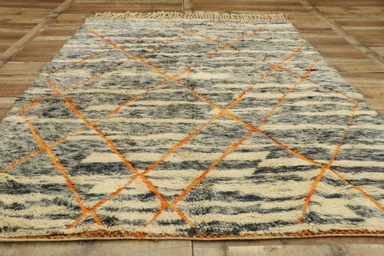 New Contemporary Beni Mrirt Carpet, Berber Moroccan Rug For Sale 1