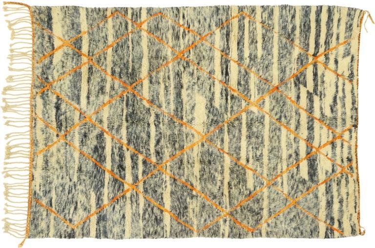 New Contemporary Beni Mrirt Carpet, Berber Moroccan Rug For Sale 3