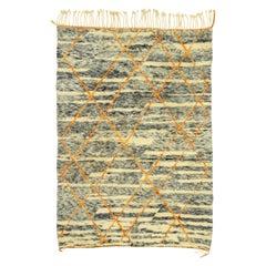 New Contemporary Beni Mrirt Carpet, Berber Moroccan Rug