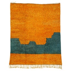 New Contemporary Berber Moroccan Area Rug with Abstract Expressionist Style