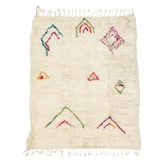 New Contemporary Berber Moroccan Azilal Rug with Cozy Hygge Boho Tribal Vibes