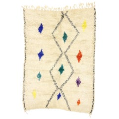 New Contemporary Berber Moroccan Azilal Rug with Tribal Boho Hygge Style
