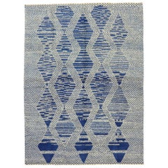 New Contemporary Geometric Moroccan Rug with Deconstructivism Postmodern Style