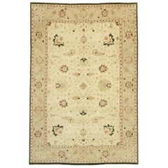 New Contemporary Indo-Persian Mahal Palace Rug with Modern Arts & Crafts Style