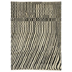 New Contemporary Moroccan Area Rug with Abstract Expressionism Style