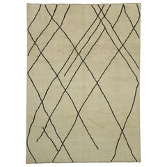New Contemporary Moroccan Area Rug with Modern Style