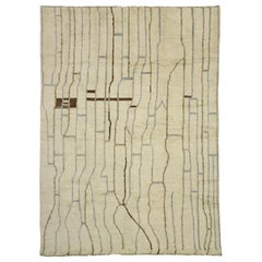 New Contemporary Moroccan Area Rug with Organic Modern Style