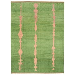 New Contemporary Moroccan Area Rug with Postmodern Abstract Expressionist Style