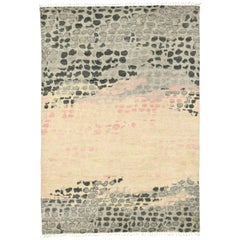 New Contemporary Moroccan Area Rug with Postmodern Biomorphic Surrealism Style