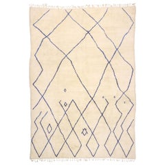 New Contemporary Moroccan Rug with Cozy Bohemian Style and Hygge Vibes