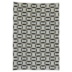 New Contemporary Moroccan Rug with Cubist Bauhaus Style