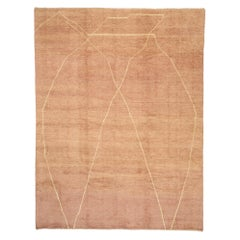 New Contemporary Moroccan Rug with Minimalist Bohemian Style