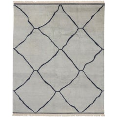 New Contemporary Moroccan Rug with Modern Minimalist Style