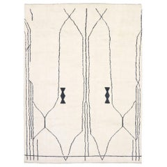 New Contemporary Moroccan Rug with Modern Tribal Style