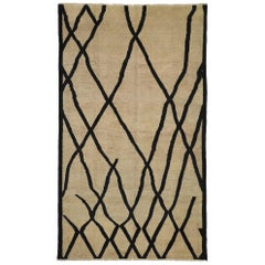New Contemporary Moroccan Rug with Organic Modern Style