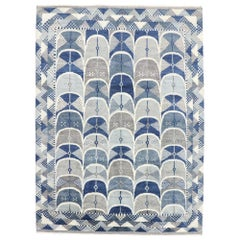 New Contemporary Moroccan Scandinavian Style Rug Inspired by Marianne Richter