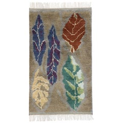 New Contemporary Moroccan Style Rug with Biophilic Scandinavian Modern Design