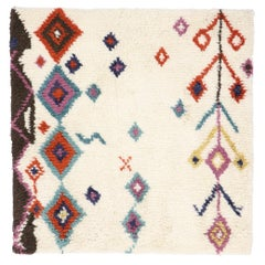 New Contemporary Moroccan Style Rug with Boho Chic Hygge Vibes
