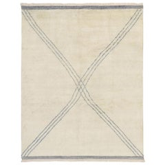 New Contemporary Moroccan Style Rug with Modernist Vibes