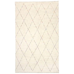 New Contemporary Moroccan Style Rug with Post-Modern Style and Color Pop