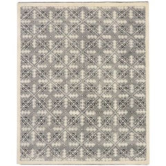 New Contemporary Moroccan Style Souf Rug with Raised Design and Modern Style