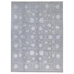 New Contemporary Oushak Rug with Hollywood Regency Directoire Style