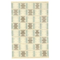 New Contemporary Swedish Indian Kilim Rug with Scandinavian Modern Style