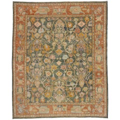 New Contemporary Turkish Oushak Rug with Modern Spanish Revival Style