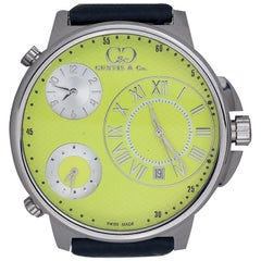 New Curtis and Co Watch, Big Time Air, 3-Time Zone