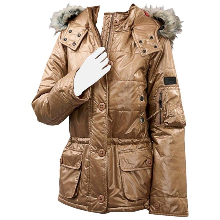 New Da-Nang Detachable Hood Puffer Jacket For Sale