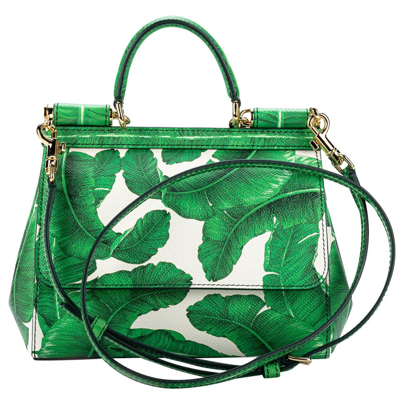 New Dolce & Gabbana Banana Leaf Sicily Bag