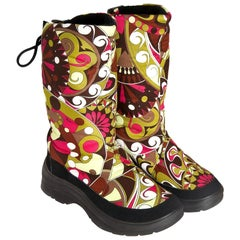 New Emilio Pucci Ski Snow Rain Boots Sz 38